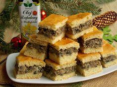 ***Borscht cake w/mushrooms*** Christmas Dishes, Christmas Cooking, Polish Recipes, Savoury Cake, Food Cakes, Finger Food, Cake Recipes, Good Food, Food And Drink