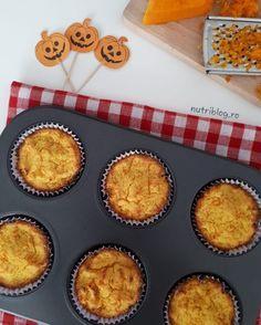 briose cu dovleac fara zahar Lchf, Keto, Biscuits, Muffin, Low Carb, Gluten, Breakfast, Desserts, Recipes