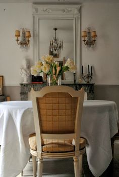 Fabulously French: new dining room...