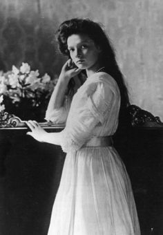 Grand Duchess Tatiana of Russia,1910, daughter of the last Russian Czar