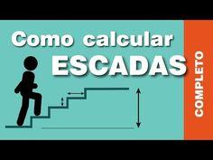 Cálculo de escada, fácil e simples! Passo a passo de como calcular as medidas da sua escada! - YouTube Stairs Measurements, Gazebo Pergola, Concrete Structure, Autocad, Instagram, Youtube, Terra, Concrete Stairs, Attic Ladder