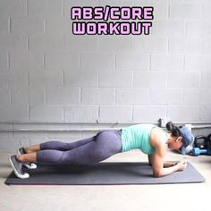 Get ready! This Abs/Core Workout burns like crazy!! All levels can do it & will feel it. Try not to rest (2-3secs max in btwn each exercise). - 10 Reps all exercises, except numbers 3 & 7 do 8 Reps each side. - - 3-5 Sets - #girlyexercises #home