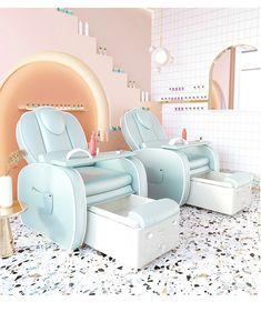 Pedicure Chair, Pedicure Spa, Foot Massage, Massage Chair, Nail Spa, Manicure And Pedicure, Beauty Studio, Beauty Room, Nail Design