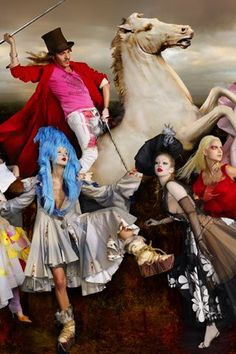 Galliano- create with power, creativity and color daily