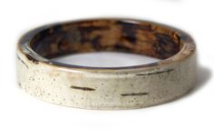 Birch Bark Bracelet Real Birch Bark Bangle by ModernFlowerChild Resin Ring, Resin Jewelry, Jewellery, Cuff Bracelets, Bangles, Birch Bark, Tree Bark, Rings For Men, Fashion Jewelry