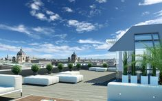 Sans Souci Hotel and Residences in Vienna, Austria.