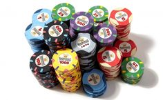 Paulson Primary National Poker Series Clay Chips