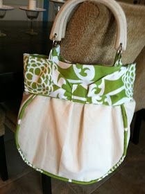 Prudently Painted Vintage: Another purse and a tutorial