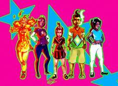 Gang x Gang, Lawrence Ndzanga Pocahontas, Disney Characters, Fictional Characters, Illustrations, Disney Princess, Artwork, Work Of Art, Auguste Rodin Artwork, Illustration