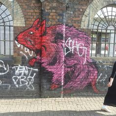 Artist: Unknown  Location: London UK  A vibrant rat in Soho.  ℹ More info at StreetArtRat.com  #travel #streetart #street #streetphotography #tagsforlikes #sprayart #urban #urbanart #urbanwalls #wall #wallporn #graffitiigers #stencilart #art #graffiti #instagraffiti #instagood #artwork #mural #graffitiporn #photooftheday #streetartistry #pasteup #instagraff #instagrafite #streetarteverywhere #london #uk #rat