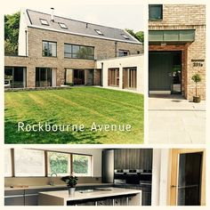 #ThrowbackThursday Rockbourne Avenue, Private house #brick #modern #house