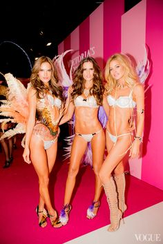Angels in Action: A Photographer's Perspective on the 2013 Victoria's Secret Fashion Show - Vogue Daily - Fashion and Beauty News and Features