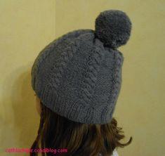 tuto bonnet torsade avec pompon