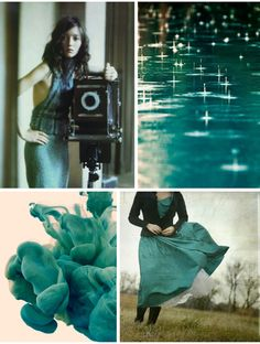Pepper and Buttons: {Colour Board} A Touch of Teal