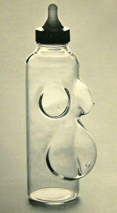 """Feminist Feeder"" - Alan Rhodes and William Clark 1974"