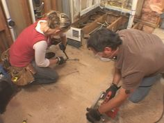 How to Replace a Subfloor : DIY Network