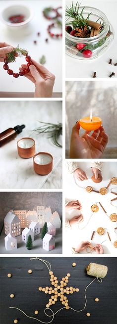 Oh the lovely things: 12 DIY Holiday Decor and Ornaments