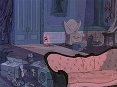 101 DALMATIANS was Disney's first feature to showcase the new Xerox method for transferring animators' drawings to cels. The animators loved. Scenery Background, Animation Background, Disney Background, Walt Disney Animation, Animation Film, Animation Studios, Environment Concept Art, Environment Design, Disney Kunst