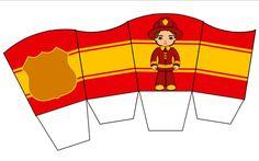 Cajita abierta bomberos