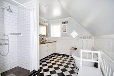 VINTAGE STYLE: Baderoms- ideer til det nye huset...