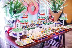 Coco's Fun-Filled Pinoy Fiesta - Baby and Breakfast - Filipino desserts Fiesta Theme Party, Birthday Party Themes, Birthday Cake, Birthday Ideas, Filipino Desserts, Pinoy, Event Decor, Baby Breakfast, Dessert Tables