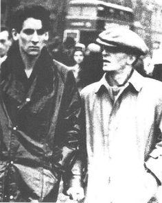 Wittgenstein and Ben Richards in London.