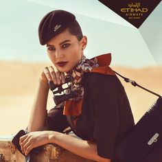 World renowned fashion photographer, Norman Jean Roy, gives life to Ettore Bilotta's designs in a high fashion photoshoot for the new Etihad Airways uniform. Airline Uniforms, Airline Tickets, Air Hostess Uniform, Norman Jean Roy, Flight Attendant Life, Cabin Crew, Fashion Shoot, Beautiful Women, Photoshoot