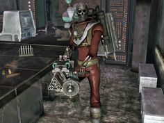 Y-17 trauma override harness, Fallout New Vegas, Old World Blues.