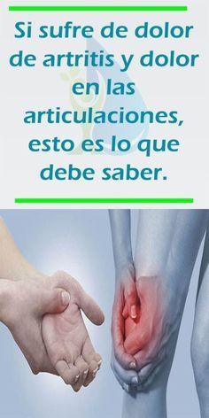 Si sufre de dolor de artritis y dolor en las articulaciones, esto es lo que debe saber. - Fitness y Salud Home Remedies, Natural Remedies, Reiki, Holding Hands, Health, Fitness, Tips, Alpacas, Molde