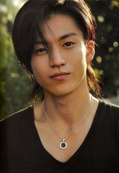 oguri shun ; I find him cute. :)