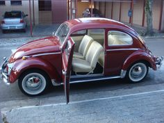 Carros Retro, Hot Vw, Fiat 600, Classy Cars, Import Cars, Vw Cars, Vw Beetles, Amazing Cars, Vintage Cars
