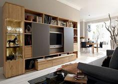 Contemporary TV wall unit CARVA  hülsta