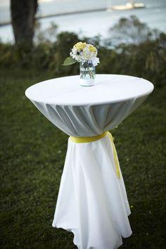 outside bistro table decor