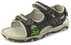 Neu Ältere Jungen/Kinder Grau Klettverschluss Adventure-sandalen grau/Grün - UK GRÖßEN 13-5 - Jungen', Grau/Grün, EU 32 - http://on-line-kaufen.de/rockstorm/32-eu-neu-ltere-jungen-kinder-grau-adventure-grau-5