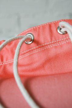 Storm | NOSKA SHOP  #Storm #Rucksack #LilacGray #PeachEcho #drawstring #bagpack