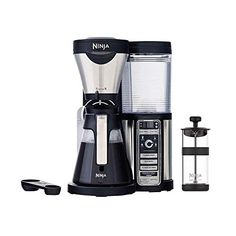 Ninja CF080 Coffee Bar Brewer Maker w/Glass Carafe (Renewed) Amazon Renewed Coffee Uses, Coffee Type, Best Coffee, Juicer Machine, Ninja Coffee, Insulated Cups, Coffee Brewer, Coffee Percolator, Camping Coffee