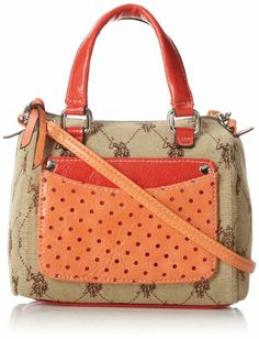 U.S. Polo Assn. Brittany Jaquard Mini Satchel Top Handle Bag,Chino/Orange,One Size U.S. Polo Assn. http://www.amazon.com/dp/B00HH33QKO/ref=cm_sw_r_pi_dp_0OyItb0HDGJ987BE