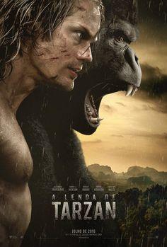 'A Lenda de Tarzan' (The Legend of Tarzan), acompanha Tarzan (Alexander Skarsgård) anos depois de..