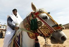 A horseman wearing traditional Zintan clothes celebrates the liberation of Libya in the Western Mountains, southwest of the capital of Tripoli, Nov. 15, 2011.  Ismail Zitouni / Reuters