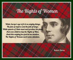 "Robert Burns ""The Rights of Women"""