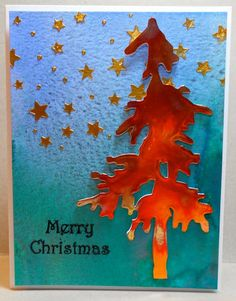 Copper Tree by susanbri - Cards and Paper Crafts at Splitcoaststampers