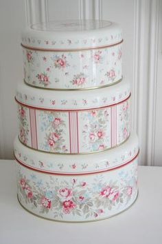 GreenGate Tin Boxes Elisa Vintage available at www.originated-shop.nl