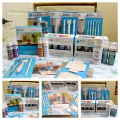Martha Stewart has a new line of glass paints and associated products and it is AWESOME! Read on to get a peek