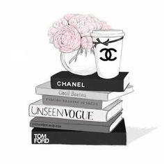 Imagem de chanel, book, and vogue