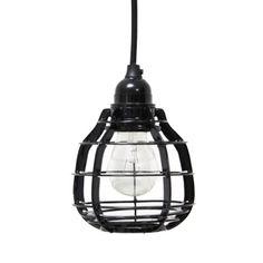 HK living lab lamp inclusief stekker in het zwart