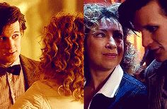 ksc River Song and The Doctor. Their story is one of the best. It's sad, tragic, and beautiful. How two people can go opposite directions in time and still love each other is completely magnificent. I love their love. ❤️❤️