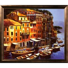 Art.com 45.25-in W X 38.5-in H Landscapes Framed Art 2836833