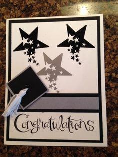 Graduation Stars by CindyJinCT - Cards and Paper Crafts at Splitcoaststampers