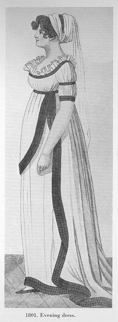 Evening Dress, 1801.