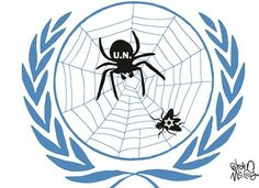 A country the size of New Jersey gets so much hate from the UN. I'm not for defunding the UN. We need to leave it altogether.
